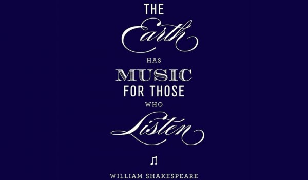 William Shakespeare - The Earth Has Music