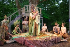 John Taylor Phillips and Marti Gobel in A MIDSUMMER NIGHT'S DREAM-direct by Joseph Hanreddy