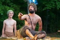 Luke Brotherhood and Demetrios E. Troy as Puck